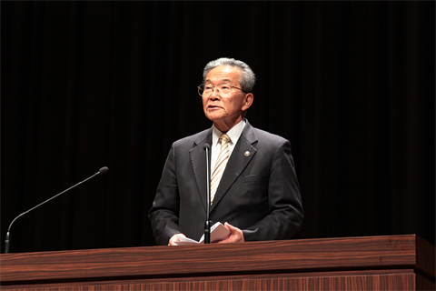 谷井博美 宗像市市長の祝辞