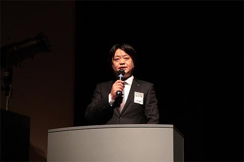 公益社団法人宗像青年会議所 横山誠理事長の挨拶