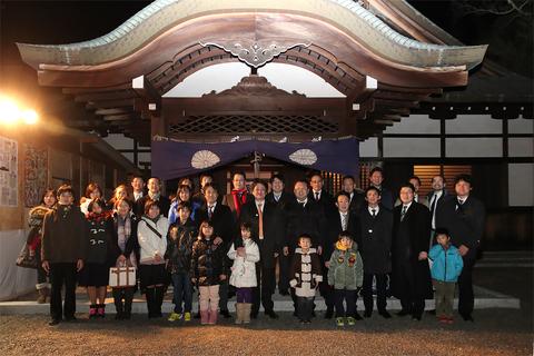 2014新年祈願祭集合写真