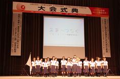 福島県いわき市立湯本第一中学校・合唱部の皆さん